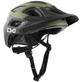 TSG Seek Graphic Design Helm block marsh/olive
